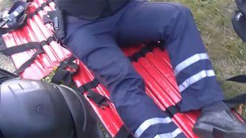 В Минске сотрудника ГАИ сбили и прокатили на капоте