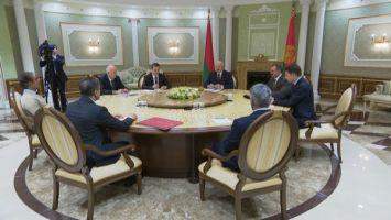 Лукашенко предложил одному из крупнейших инвесторов Дубая развивать проекты в реальном секторе экономики