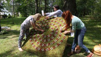 Первый белорусский фестиваль природных узоров прошел в Центральном ботаническом саду Минска