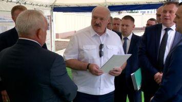 Лукашенко требует разумно и по-хозяйски подходить к модернизации Оршанского мясоконсервного комбината