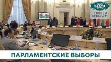 Наблюдатели от СНГ будут работать во всех округах Беларуси