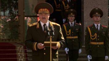Лукашенко: сегодня за нами Беларусь, и мы сделаем все, чтобы сберечь мир на своей земле