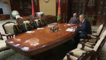 Лукашенко назначил новых министра обороны и начальника Генштаба