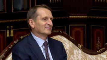 Нарышкин: спецслужбы могут сделать многое для защиты России и Беларуси от периодически возникающих угроз