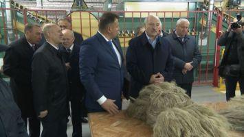 Лукашенко подчеркивает возможность рентабельной работы льняной отрасли