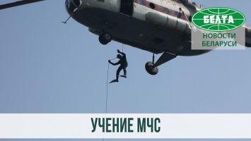 Учение МЧС прошло на водохранилище Петровичи
