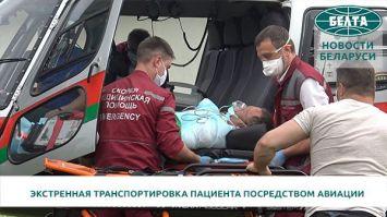 В Беларуси возобновили в полном объеме работу санитарной авиации