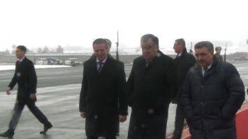 Президент Таджикистана Эмомали Рахмон прибыл в Беларусь