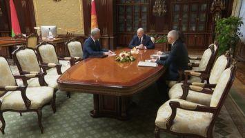 """""""Парламент сформирован, но предстоит большая работа"""" - Лукашенко попросил Андрейченко помочь организовать деятельность нового созыва"""