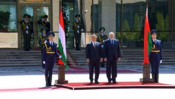 Лукашенко встретился с премьер-министром Венгрии Виктором Орбаном