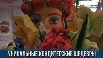 """Уникальные кондитерские шедевры на выставке """"Продэкспо - 2017"""""""