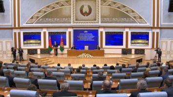 Лукашенко охарактеризовал новый состав парламента и состоявшиеся выборы