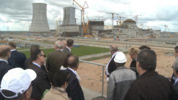 Иностранные дипломаты посетили БелАЭС