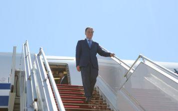 Зампредседателя КНР Ван Цишань прибыл в Беларусь