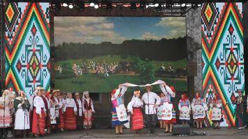 """Народные танцы на фестивале """"Зов Полесья"""""""