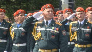 Парад МЧС в Минске