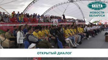 Петришенко: с молодежью надо говорить о будущем