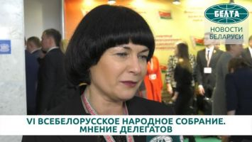 Делегат ВНС Елена Зябликова: мы не можем быть безразличными к будущему своих детей
