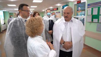 Лукашенко: систему здравоохранения в Минске необходимо привести в порядок