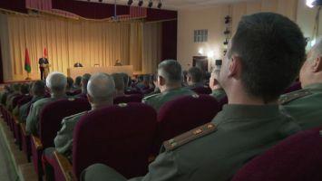 Лукашенко убежден в правильности курса на создание надежной системы нацбезопасности