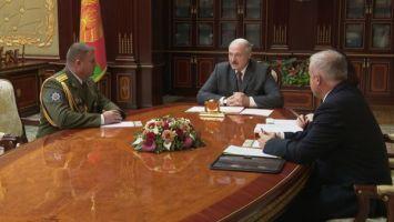 Лукашенко назначил командующего внутренними войсками