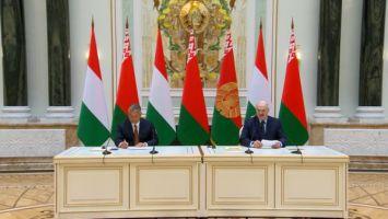 """""""В формате живого общения"""" - Лукашенко рассказал о политико-экономических итогах встречи с Орбаном"""