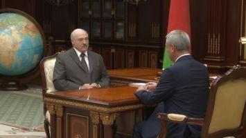 Лукашенко считает важным ускорить работу парламента над принятием бюджетных документов на 2020 год