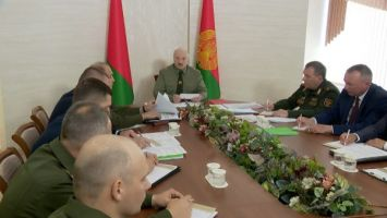Лукашенко: решение о создании территориальной обороны подтвердило свою целесообразность
