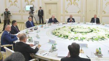 Лукашенко призвал совместно разрешать замороженные конфликты на постсоветском пространстве