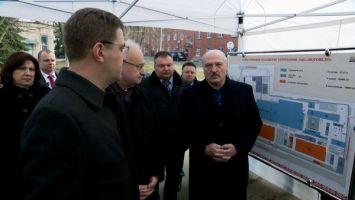 Лукашенко: к концу пятилетки мотовелозавод должен стать образцовым производством