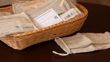 В Японии защитные маски шьют из оршанского льна