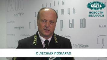 Шатравко: основная причина пожаров в лесах - несоблюдение требований безопасности