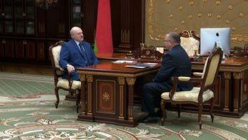 Лукашенко поинтересовался у председателя КГК ситуацией в Брестской области, за которую он отвечает