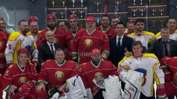 Хоккейная команда Президента Беларуси выиграла первый матч финальной серии