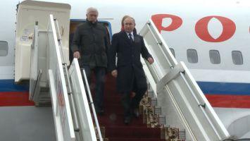 Путин прибыл в Беларусь для участия в саммите ОДКБ