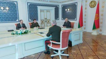 """""""Вызовов и угроз не становится меньше"""" - у Президента обсудили ситуацию на белорусской границе"""