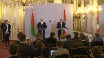 Близость подходов и проекты на миллиард - Лукашенко заявил о намерении углубить отношения с Австрией