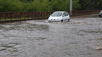 Cильные потопы в Гродно и Бресте