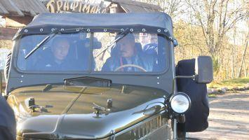 Лукашенко и Путин побывали на малой родине белорусского Президента
