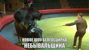 """Генеральная репетиция нового шоу """"Небывальщина"""" в Белгосцирке"""