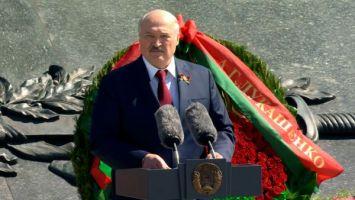 Лукашенко: мир должен знать и помнить о трагедии белорусского народа
