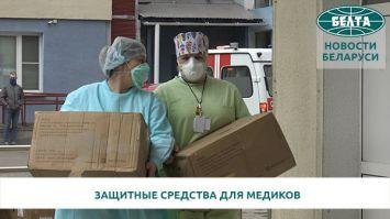 """Группа компаний """"А-100"""" привезла из Китая крупную партию защитных средств для медиков"""