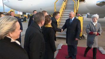 Лукашенко прибыл с официальным визитом в Австрию