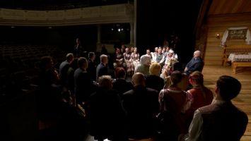 Судьба театра, проблемы культуры, будущее Беларуси - о чем артисты Купаловского говорили с Президентом