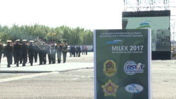 Открытие выставки MILEX-2017