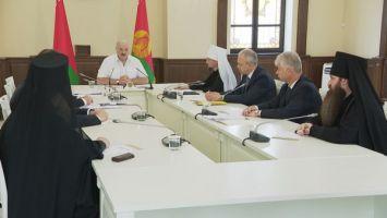 Лукашенко: мы должны сделать все, чтобы сохранить в Беларуси межконфессиональный мир