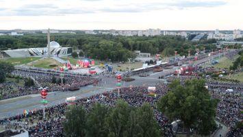 Военный парад в честь Дня Независимости в Минске