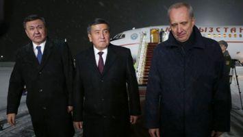 Президент Кыргызстана прибыл в Беларусь