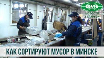 Как сортируют мусор в Минске