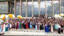 Бал выпускников во Дворце Независимости